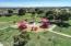 Aerial view of neighborhood park