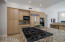 Gas Cooktop & Spacious Granite Island