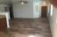 New floor, freshly painted
