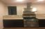 Second kitchen cooking Wall-Mounted Range Hood, gas stove