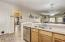 Granite counter tops to complete a chef's kitchen