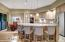 Open Kitchen with Nook and Breakfast Bar