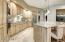 Gourmet Kitchen with Gas Cook top and Wall Ovens
