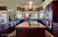 Work/Cooking Island with Magnificent Cabinetry is within fingertip reach of every Kitchen need!