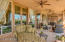 Large Covered Patio with Stone Flooring and plenty of room to enjoy the outdoors!