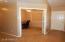3rd bedroom w/double doors