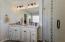 Fully remodeled master bathroom