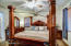 Large Master Bedroom with 3 beautiful windows.