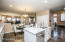 Kitchen is open to great-room