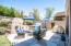 The seller spent SO MUCH money on the beautiful backyard renovation!