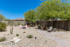 HUGE Backyard with extended paver patio and walkways!