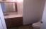downstairs 1/2 bath