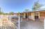 3 horse stall paddock.