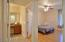 Well designed floorplan - Guests can enter bath through separate door