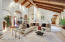 Gorgeous, vaulted ceilings!