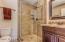 Bath across from Bedroom 1