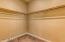 Large master closet