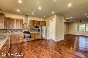 Gorgeous kitchen with open concept floor plan.