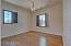 Bedroom #3; hardwood flooring and crown molding is featured in each bedroom!