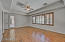 Separate private exit to rear patio; this is a large master bedroom!