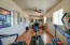 Barn has been converted into 576 sq ft of livable space which is currently set up as an exercise room but could easily be an office, workshop, or turned into additional garage space.