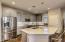 Gourmet kitchen with modern styling