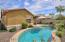 Pool includes a water feature, an infloor cleaning system & an upgraded variable speed pool pump.