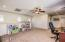 Perfect office, playroom, or 2nd family room