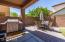 Backyard was professionally landscaped and has been well maintained.