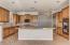 Spacious kitchen and new granite countertops