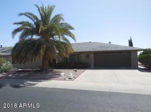 12311 W CANDLELIGHT Drive, Sun City West, AZ 85375
