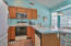 Eat-in Kitchen with Breakfast Nook and Bay Windows