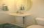 Guest bath on main level.