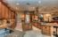 Center island with additional sink and granite throughout!