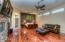 Extremely large master suite with sitting area and hardwood floors!