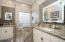 GRANITE - DUAL SINKS - WALK-IN SHOWER - LIGHTED MIRRORS