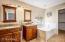 Master bathroom dual sinks & vanities, separate shower & tub