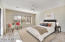 Master Bedroom with virtual staging