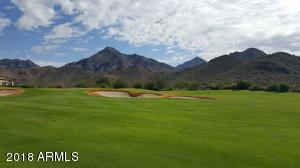 Views over the first fairway to the McDowell Mountains