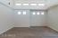Open great room spans 25 feet wide!