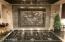 Custom Pewter Tile Backsplash!