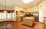 Spacious Kitchen with Breakfast Bar and Breakfast Area - Sky Lights for natural light