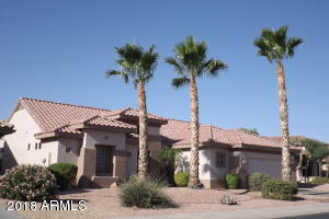 FRONT ELEVATION...16291 W. WILLOW CREEK LN. (SUN CITY GRAND).