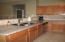 Granite kitchen with all stainless appliances