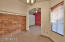 Artistic Wood Paneling Anchors This Space