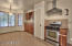 Pantry Closet And Gas Range/Stove