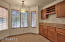 Bay Window, Eat-In Kitchen Space and Extra Cabinet Storage / Wine Rack