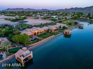 The most exclusive ski lake in the valley is SanTan Lakeside Estates.