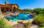 Resort Style Salt Water Pool/Spa with Waterfall