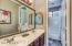 Second Bath. Floorplan is a split floor plan